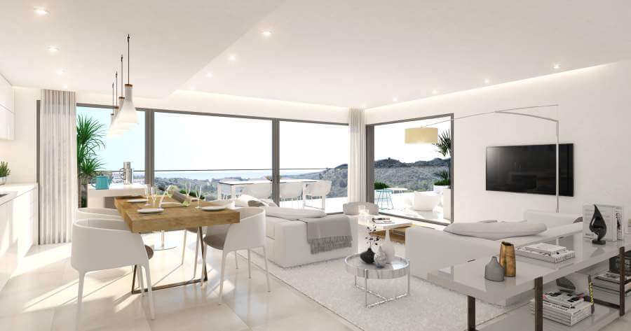 agora selwo new golden mile nieuwbouw modern appartement penthouse te koop rustig natuur zeezicht