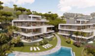 agora selwo new golden mile nieuwbouw modern appartement penthouse te koop rustig natuur zwembad