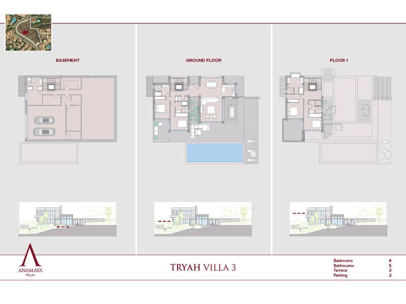 anamaya luxe nieuwbouw villas te koop nueva andalucia zeezicht golf bergen 3 2