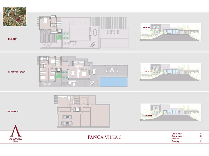 anamaya luxe nieuwbouw villas te koop nueva andalucia zeezicht golf bergen 5 2