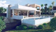 anamaya luxe nieuwbouw villas te koop nueva andalucia zeezicht golf bergen design