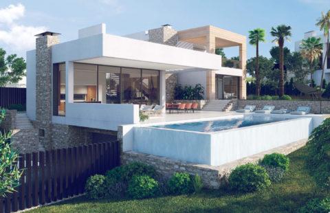 Anamaya: exclusieve villa's met opmerkelijke zichten (Nueva Andalucia)