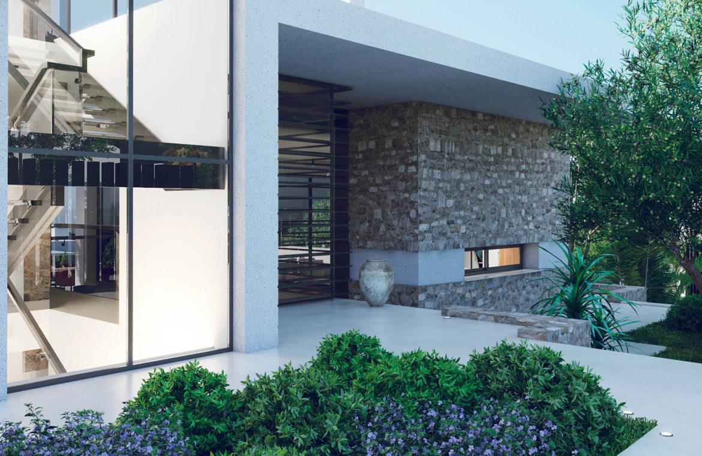 anamaya luxe nieuwbouw villas te koop nueva andalucia zeezicht golf bergen entree
