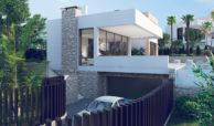 anamaya luxe nieuwbouw villas te koop nueva andalucia zeezicht golf bergen garage