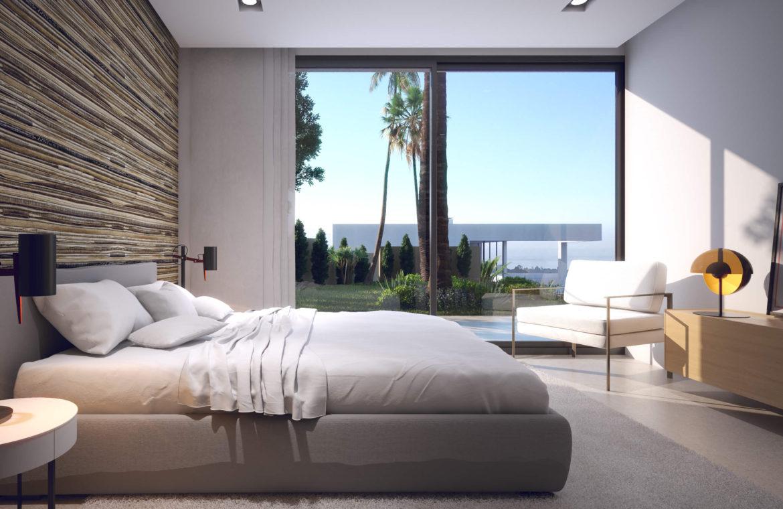 anamaya luxe nieuwbouw villas te koop nueva andalucia zeezicht golf bergen slaapkamer