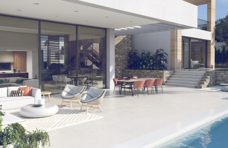 anamaya luxe nieuwbouw villas te koop nueva andalucia zeezicht golf bergen zwembad