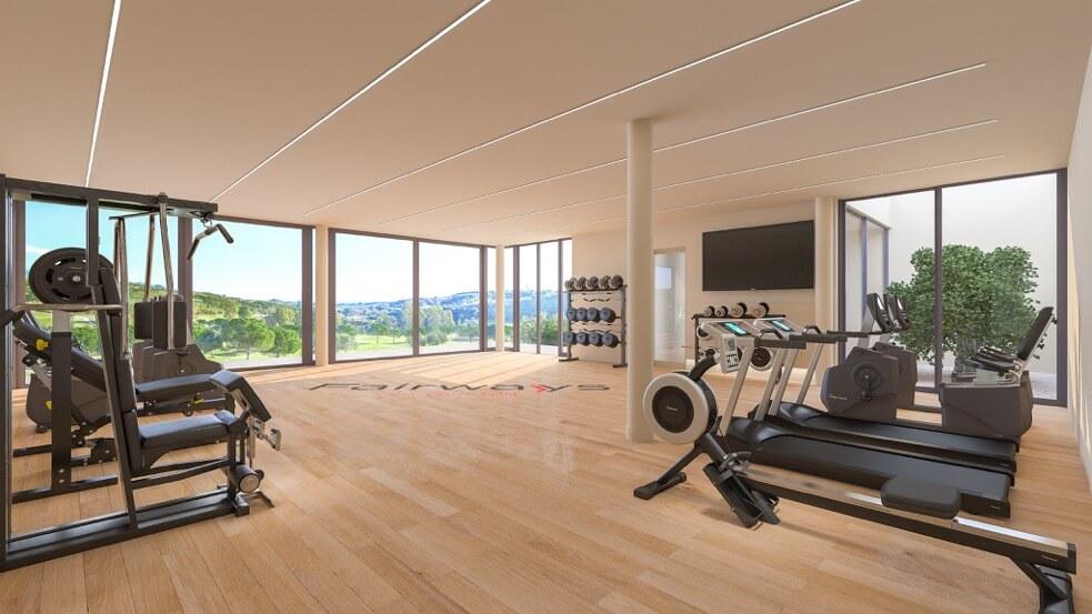fairways la cala golf appartementen penthouses eerstelijns golf nieuwbouw gym
