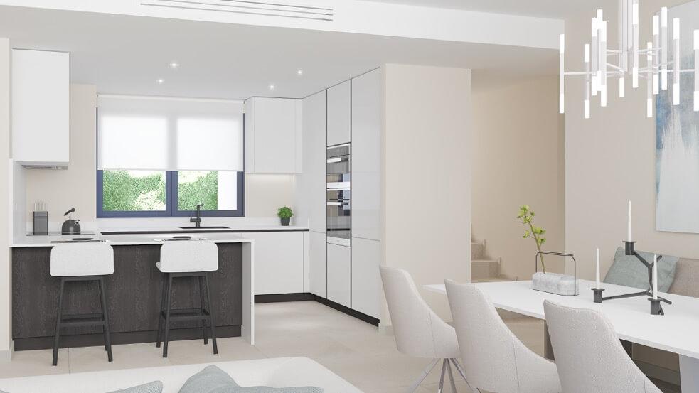 fairways la cala golf appartementen penthouses eerstelijns golf nieuwbouw keuken