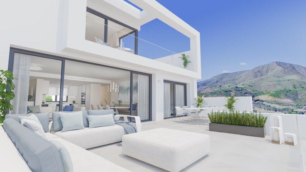 fairways la cala golf appartementen penthouses eerstelijns golf nieuwbouw terras gelijkvloers