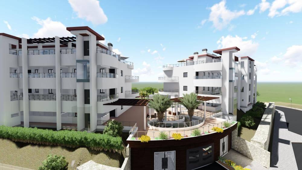 pinares de mijas appartementen nieuwbouw te koop entree