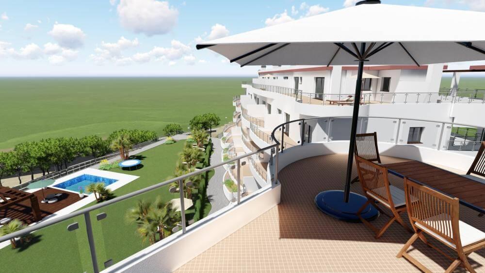 pinares de mijas appartementen nieuwbouw te koop terras
