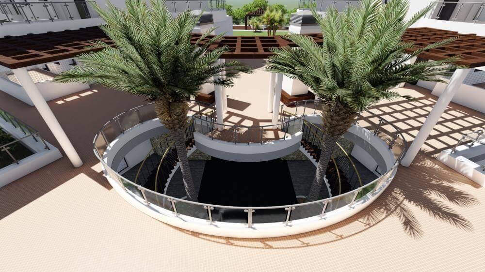 pinares de mijas appartementen nieuwbouw te koop trappenhal