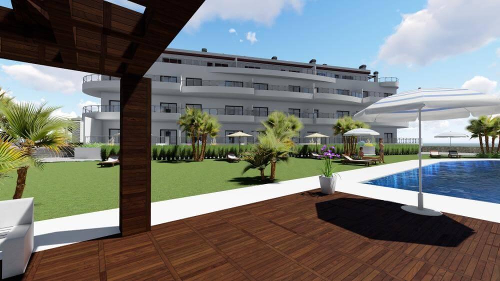 pinares de mijas appartementen nieuwbouw te koop tuin