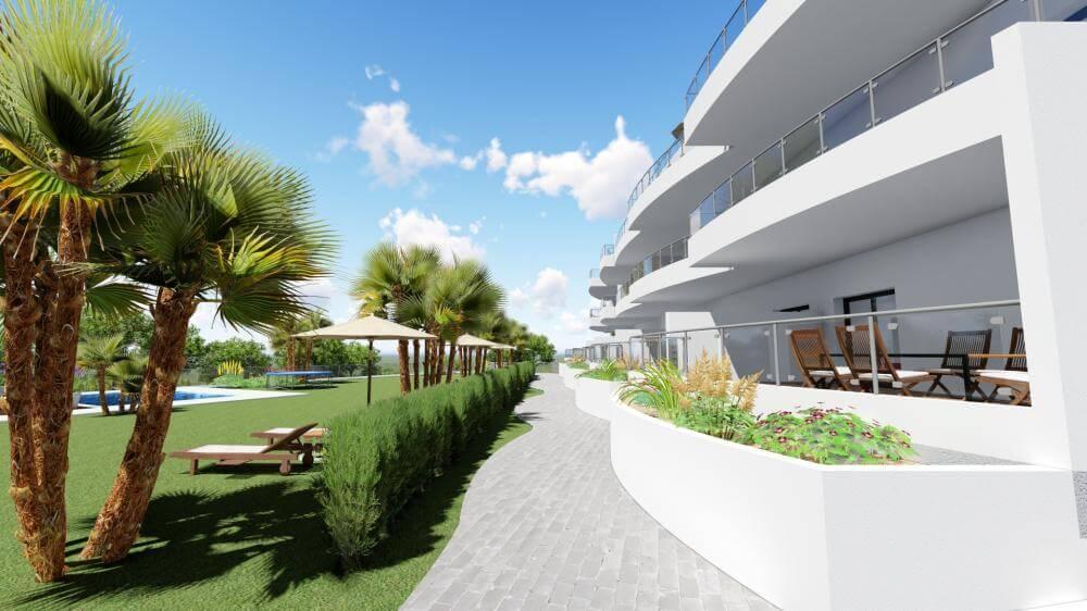 pinares de mijas appartementen nieuwbouw te koop tuinpad