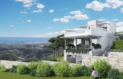 The Cape: 23 huizen eerstelijns golf met uitzicht op zee (Cabopino)