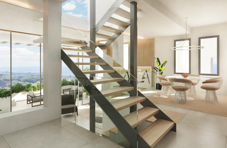 the cape cabopino nieuwbouw modern huis kopen eerstelijns golf keuken