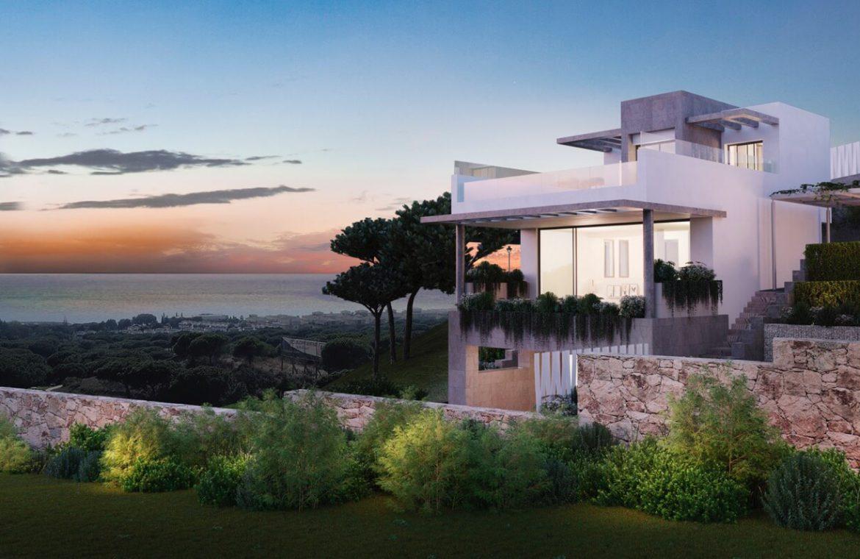 the cape cabopino nieuwbouw modern huis kopen eerstelijns golf nocturne