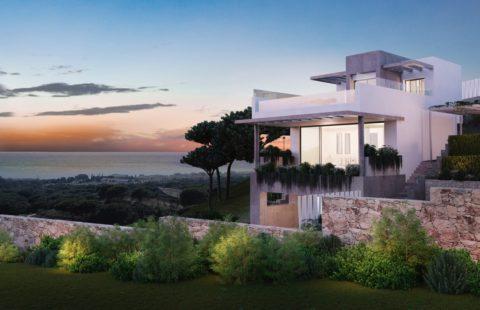 The Cape: villa eerstelijns golf met uitzicht op zee (Cabopino)