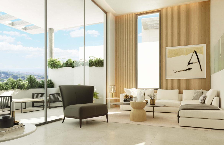 the cape cabopino nieuwbouw modern huis kopen eerstelijns golf salon