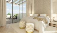 the cape cabopino nieuwbouw modern huis kopen eerstelijns golf slaapkamer