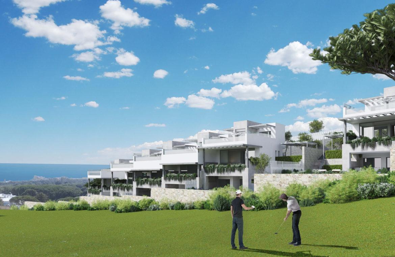 the cape cabopino nieuwbouw modern huis kopen eerstelijns golf zeezicht