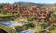 alminar de marbella nueva andalucia golf zeezicht mediterraans kopen complex