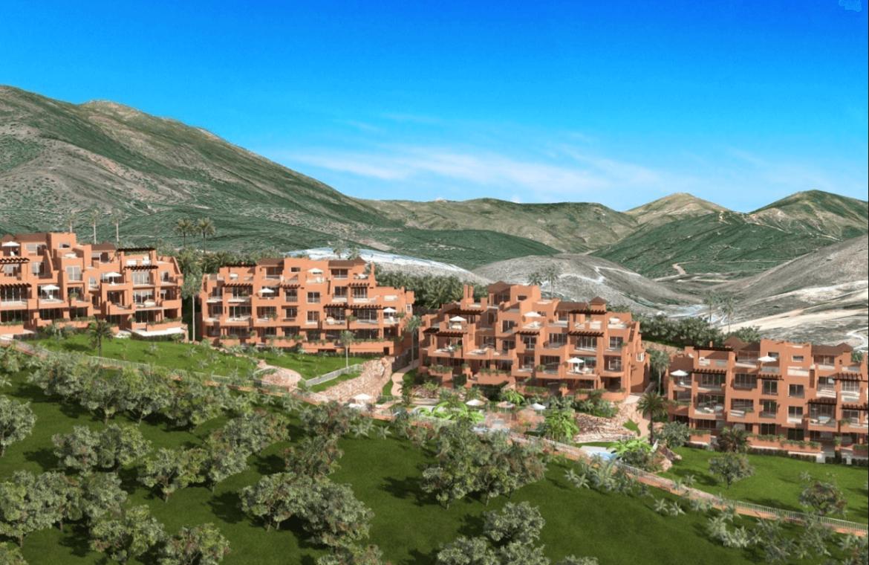 alminar de marbella nueva andalucia golf zeezicht mediterraans kopen luchtfoto