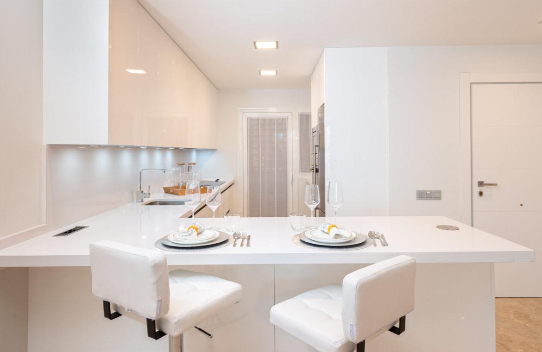 alminar de marbella nueva andalucia golf zeezicht mediterraans kopen open keuken