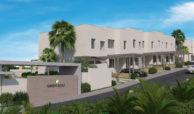 green golf moderne geschakelde huizen townhouses estepona eerstelijns golf te koop complex