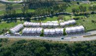 green golf moderne geschakelde huizen townhouses estepona eerstelijns golf te koop overzicht