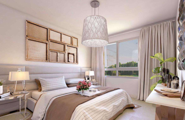 green golf moderne geschakelde huizen townhouses estepona eerstelijns golf te koop slaapkamer