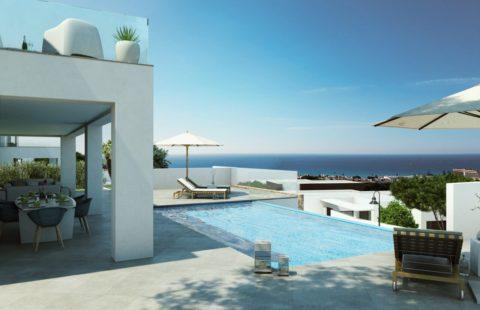La Cala Views: moderne luxe designvilla's in een beveiligd complex (Mijas)