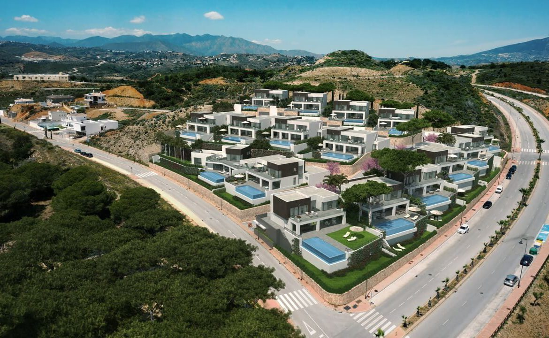 la cala views mijas costa villa modern nieuwbouw kopen zeezicht complex