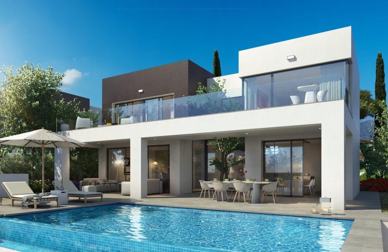 la cala views mijas costa villa modern nieuwbouw kopen zeezicht design