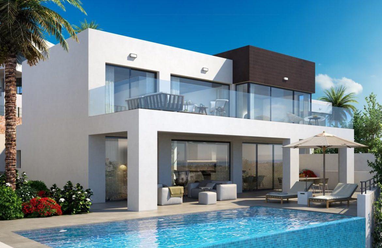la cala views mijas costa villa modern nieuwbouw kopen zeezicht ontwerp
