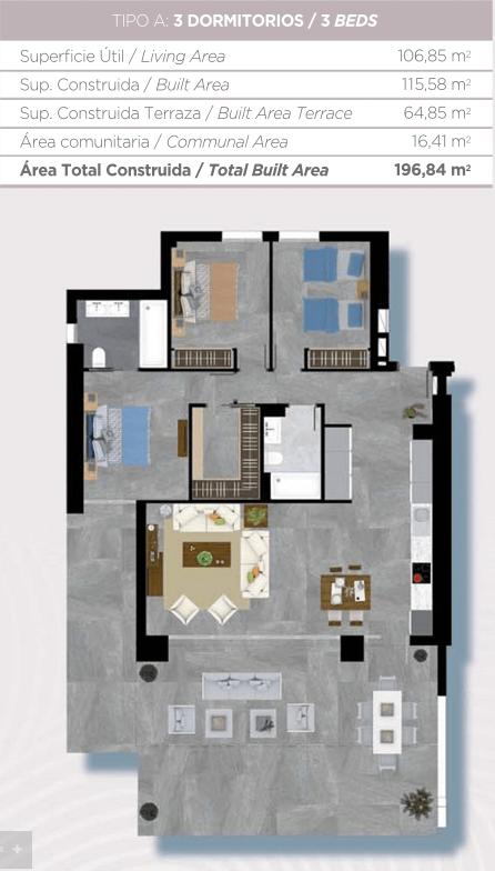 le caprice la quinta benahavis taylor wimpey nueva andalucia zichten appartement kopen grondplan gelijkvloers