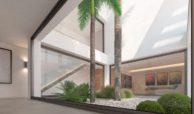 los flamingos views villa padierna benahavis villa luxe modern nieuwbouw te koop zeezicht villa1 binnentuin