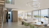 los flamingos views villa padierna benahavis villa luxe modern nieuwbouw te koop zeezicht villa1 leefruimte