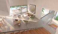 los flamingos views villa padierna benahavis villa luxe modern nieuwbouw te koop zeezicht villa1 living