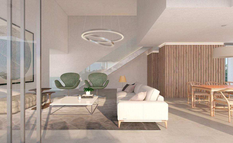 los flamingos views villa padierna benahavis villa luxe modern nieuwbouw te koop zeezicht villa1 salon