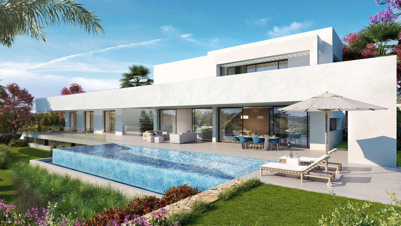 los flamingos views villa padierna benahavis villa luxe modern nieuwbouw te koop zeezicht villa1
