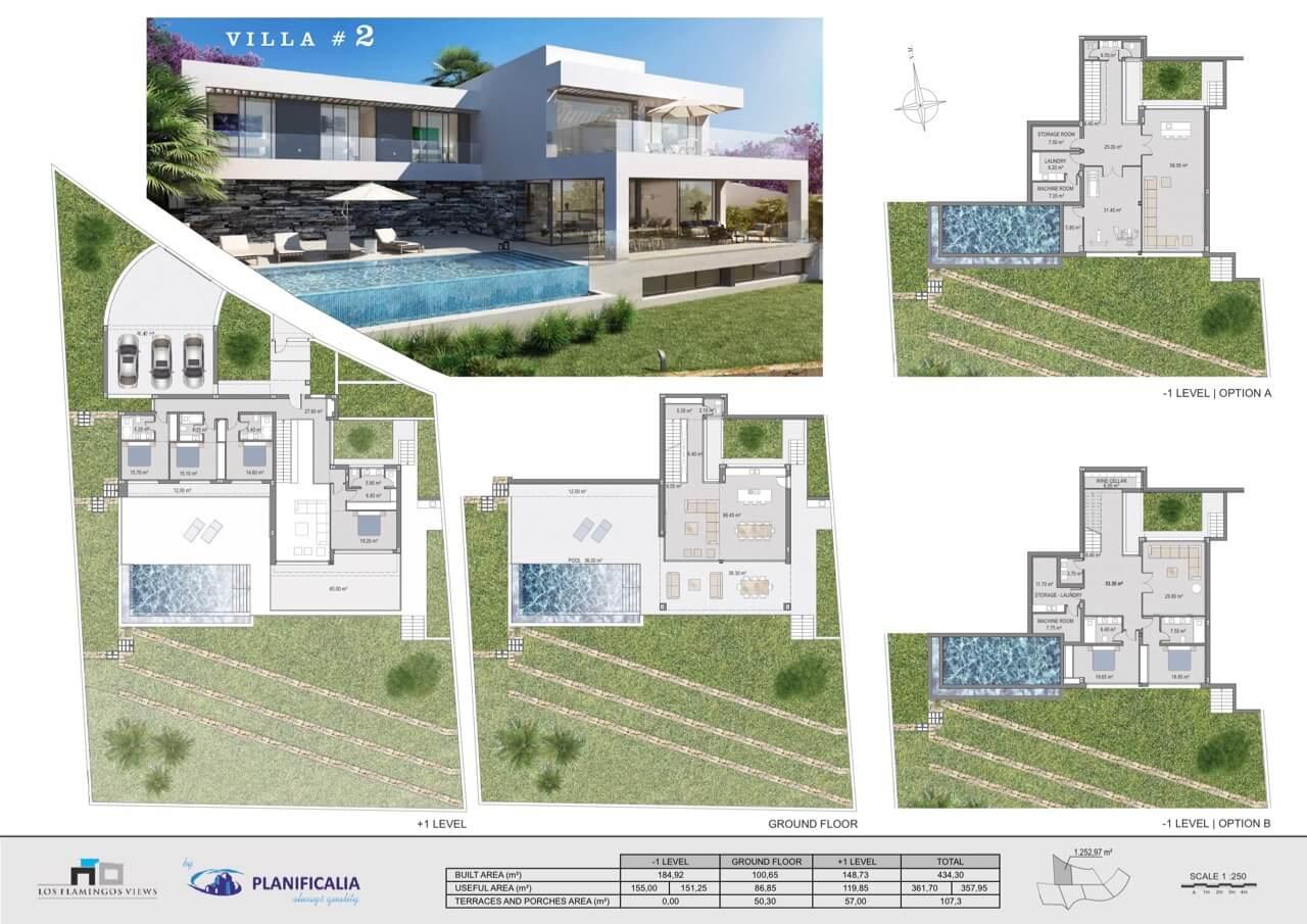 los flamingos views villa padierna benahavis villa luxe modern nieuwbouw te koop zeezicht villa2 grondplan