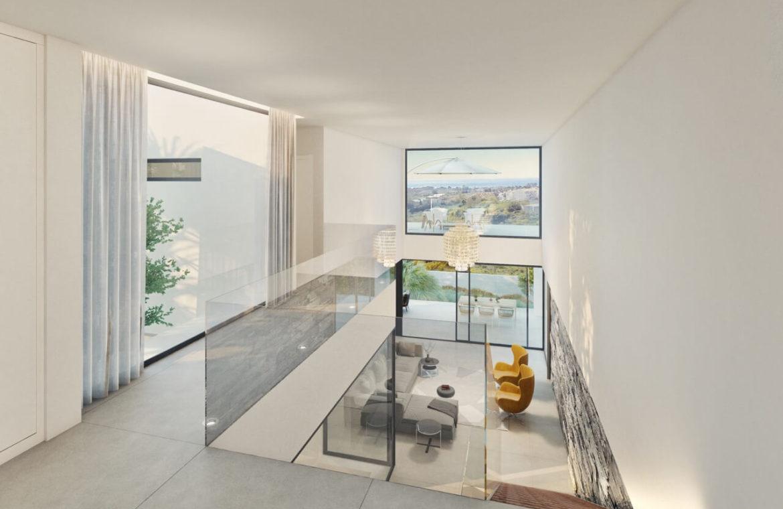 los flamingos views villa padierna benahavis villa luxe modern nieuwbouw te koop zeezicht villa2 hoge plafonds