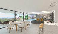 los flamingos views villa padierna benahavis villa luxe modern nieuwbouw te koop zeezicht villa2 living
