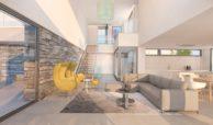 los flamingos views villa padierna benahavis villa luxe modern nieuwbouw te koop zeezicht villa2 salon
