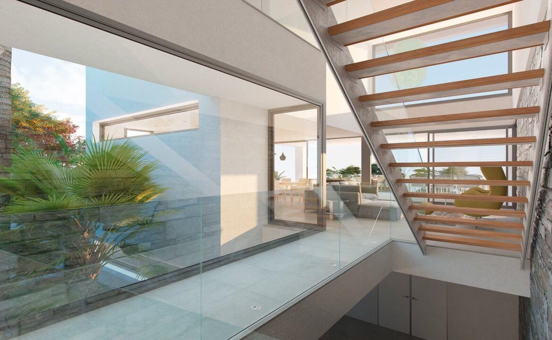los flamingos views villa padierna benahavis villa luxe modern nieuwbouw te koop zeezicht villa2 traphal
