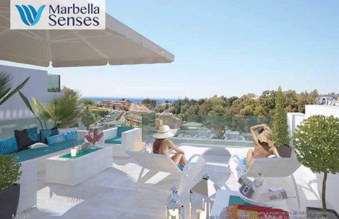 Senses Village: moderne penthouses op wandelafstand (Bel Air)