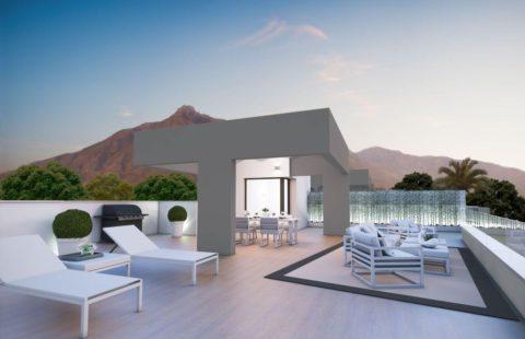 Royal Banus: nieuw penthouse op wandelafstand van alles (Puerto Banus)