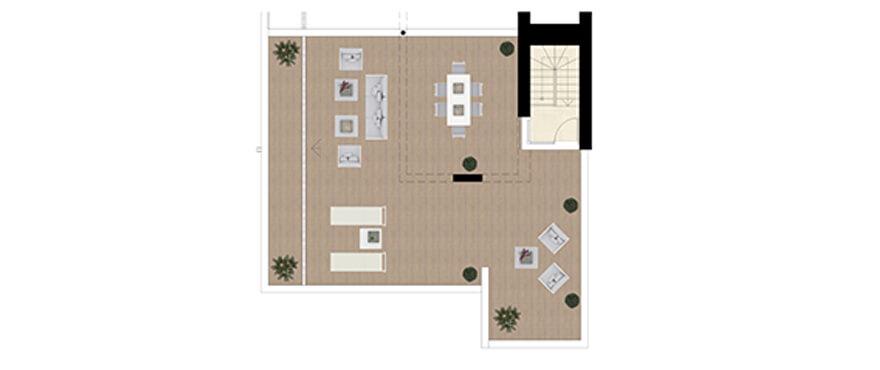 royal banus nueva andalucia taylor wimpey nieuwbouw te koop wandelafstand zee grondplan penthouse dakterras
