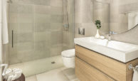 santa barbara heights mijas costa strand zeezicht resort concierge nieuwbouw te koop badkamer